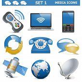 pic of antenna  - Media Icons Set 1 - JPG
