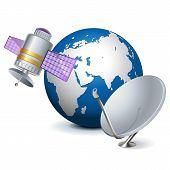 foto of antenna  - Satellite - JPG