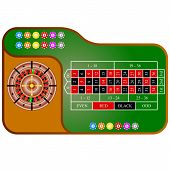 foto of roulette table  - The Tables a American  Roulette - JPG