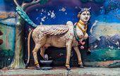 image of hindu  - Hindu godess in the Batu Caves Kuala Lumpur  - JPG