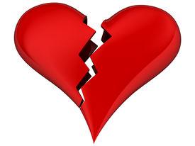 pic of broken-heart  - broken heart  - JPG