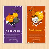 Постер, плакат: Happy halloween poster
