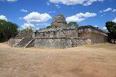 Постер, плакат: El Caracol храм в Чичен Ица Мексика