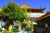 picture of hacienda  - Peaceful spiritual gardens taken at a Buddhist Temple in Hacienda Heights - JPG