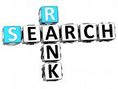 3D Search Rank Crossword Cube Words