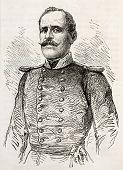 foto of artemis  - Colonel Artemis old engraved portrait - JPG