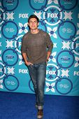 LOS ANGELES - SEP 9:  Chris Lowell at the FOX Fall Eco-Casino Party at The Bungalow on September 9,