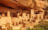 picture of cortez  - Anasazi Mesa Verde Cliff Palace Colorado USA - JPG