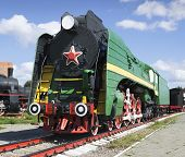 Soviet Long-haul Passenger Locomotive 50-ies