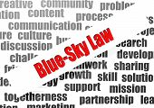 Blue-sky Law Word Cloud