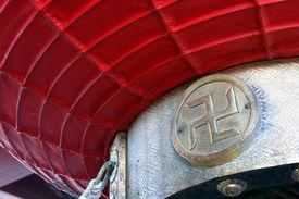 image of swastika  - Swastika in Sensoji temple in Asakusa Tokyo Japan - JPG