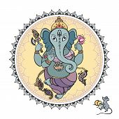 picture of hand god  - Hindu God Ganesha - JPG