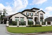 pic of model home  - Expensive home in exclusive neighborhood, gated community! ** Note: Visible grain at 100%, best at smaller sizes - JPG
