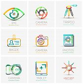 pic of flashing  - collection of 9 company logos - JPG