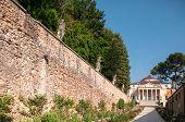 foto of vicenza  - Villa La Rotonda is a Renaissance villa just outside Vicenza in northern Italy and designed by Andrea Palladio - JPG