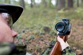 image of army  - hunting - JPG