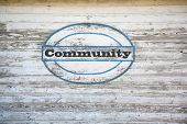 foto of coexist  - Community Concept  - JPG