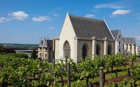 picture of anjou  - Chapel in the Chateau d - JPG
