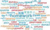 picture of homework  - Background concept wordcloud multilanguage international many language illustration of homework - JPG