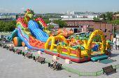 pic of inflatable slide  - irkutsk - JPG