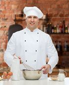 picture of pastry chef  - cooking - JPG