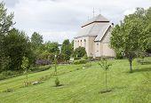 image of cemetery  - Hackas Church - JPG