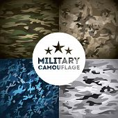 picture of camouflage  - military camouflage design - JPG