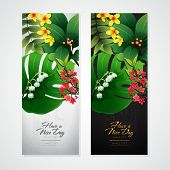 picture of jungle flowers  - blossom tropical flower background 06 - JPG
