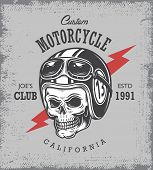 Постер, плакат: Vintage motorcycle print
