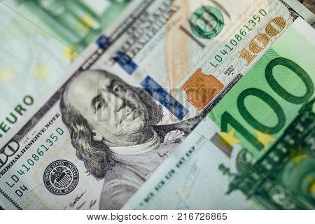 Onedollar And Twodollar Bills