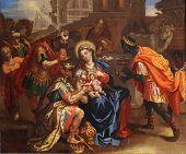 pic of adoration  - Nativity Scene - JPG