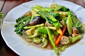 Stir Fried Variety Of Vegetables