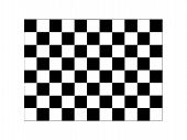 picture of sidecar  - A checkered illustration isolated against a white background - JPG