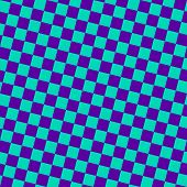Checkered Seamless Pattern. Bright Colorful Vector Geometric Texture With Small Diagonal Squares, Re poster