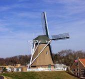 Постер, плакат: Голландская мельница Фултон