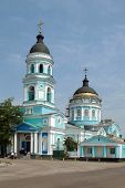 picture of ascension  - architecture Holy Ascension Church Izyum Kharkov Ukraine - JPG