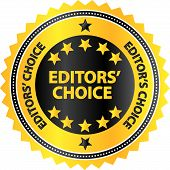 Editors Choice Quality Product Badge