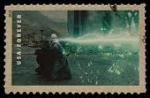 UNITED STATES - CIRCA 2013: postage stamp printed in USA showing an image of Volan de Mort a Harry P