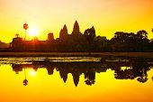 foto of raider  - Angkor Wat sunrise at Siem Reap - JPG