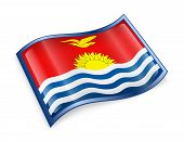 Kiribati Flag Icon.