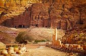 picture of rock carving  - Petra - JPG