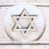 foto of hebrew  - Star of David  - JPG