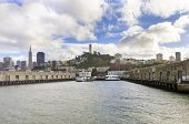 picture of alcatraz  - Pier 33 on The Embarcadero at Fisherman - JPG