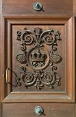 image of neo-classic  - Decorative Door at the Residence in Munich - JPG