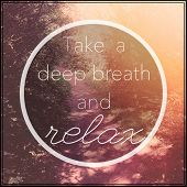 picture of breath taking  - Inspirational Typographic Quote  - JPG