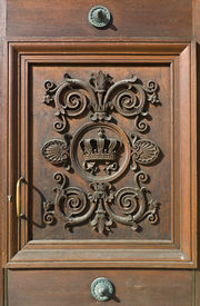 image of munich residence  - Decorative Door at the Residence in Munich - JPG