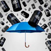 Постер, плакат: Falling Oil Protection