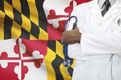 image of maryland  - Concept of national healthcare system - JPG