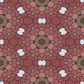 image of marsala  - Kaleidoscopic mosaic marsala - JPG