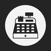 picture of cash register  - Cash Register Icon - JPG